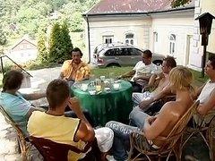Group-fuck im 9 monat Schwanger