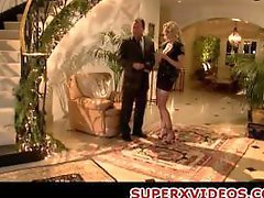Police girl enticing lucky man Julia Ann big-breasted blonde