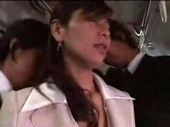 Japanese Babe Forced On Train