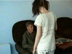 Grandpa Having an intercourse Youthful Maid