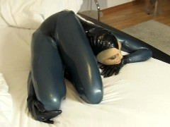 Flexible Babe in Tight Latex