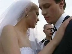Bride Fucked Outdoors By A number of Lad!