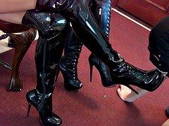 Princess Beverly Boot-Wipe Reward Female domination