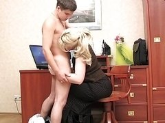 SILVIA - The Ultimate Russian Sexually available mom - Scene 2.