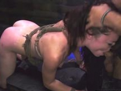 Servant girl loves giving head a huge fuck tool of her lover and then get it between her legs