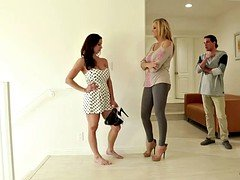 Grown-up woman Kendra Lust with large tits & a impeccable body seduced by her friend's son