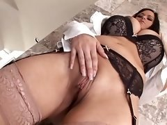 hot big-breasted babe gets assfucked