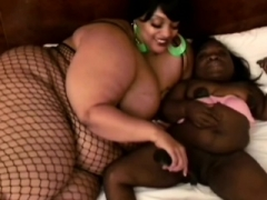 Obese and awesome-looking fatties getting fucked