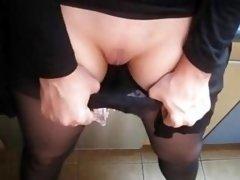 Ejaculation In Her Slip