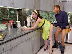 Excited Housewife craves BBC
