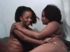 Two hot pussy admiring African lesbians getting wacky inside the bedroom!
