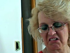 Angry not mother in law has an intercourse him