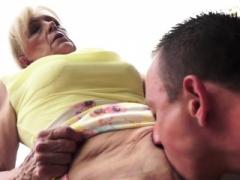 Grandma bitch sucks