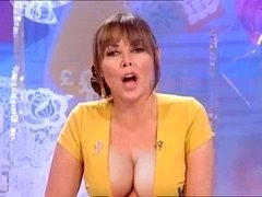 Carol Vorderman love bubbles