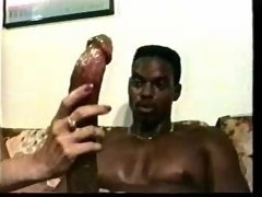 Large black fuck pole L7