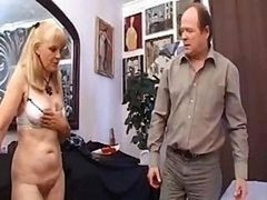 Mature prostitute tries to prove that she is still hot with fellas in bed