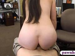 Ex dom pounded by horny pawn dude in the backroom