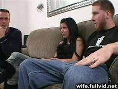 Housewife Gives blowjob Fuck tool