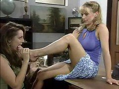Shayla LaVeaux Lesbian Scene With A couple of Alternative Hoes