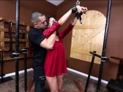 Attractive Gina Valentina dominated and furthermore fucked rough by horny man