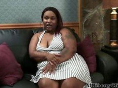 Real bbw Lala black ebony cumshots ebony swallow interracial african ghetto bbc
