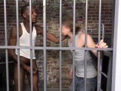 Ares Gets Fucked By His Black Cellmate