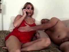 Pantyless mom taboo bang