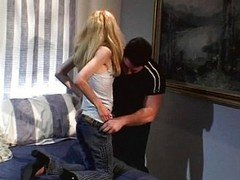 Skinny legal teen gets drilled