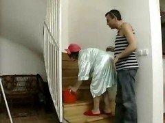 Boss Make love Mature Maid