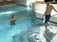 At The Swimming Pool
