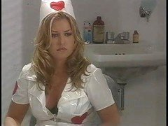 Classic Hot Nurse Getting down and dirty