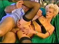 Pierced Granny In Glasses Fisted And additionally Fucked