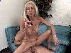 Grown-up Cigar Smoking Fella Gets down and dirty Aged Woman (3-3)