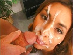 sloppy facial cumshot dia