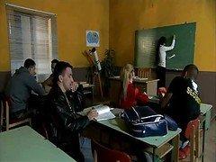 Hot Euro Eager mom Teacher