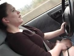 Yanks Sweetie Lou Lebonne Cums in the Car
