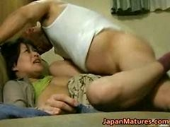 Japanese Sexually available mom has wild sex free jav part1