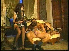 Italian Group orgy - Passionate babes give blowjob and fuck finest !