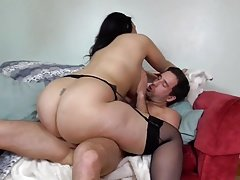 World greatest tush busty MOM covered by cum