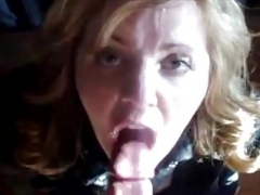 rotund wife gets sizeable facials (compilation)