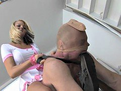 Blonde Domme
