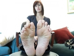 Erin feet tease