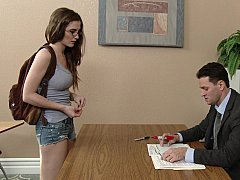 Slutty Student Offers Erotic Bliss for High Grades