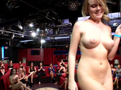 Cocksucking and sex in the strip club with the male dancers