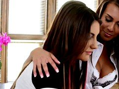 Janice Griffith and furthermore August Ames at WebYoung