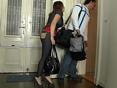 Nani and moreover her boyfriend renting Mike's Apartment