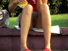 Public Upskirt Voyeur Hidden camera