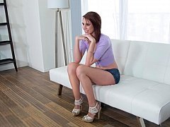 Casting couch show with a sinful broad