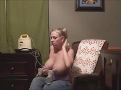 Tit milk pumping. AGAIN