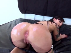 Wonderful hussy used to be treated like whore and assfucked